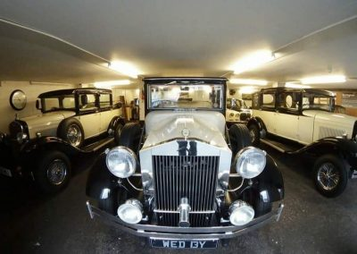Barringtons Wedding cars garage Liverpool Merseyside UK