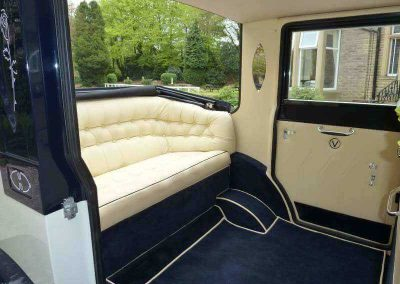 Imperial Viscount Landaulette interior wedding cars Liverpool Merseyside UK