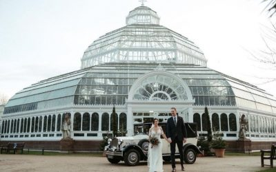 December wedding at the Palm House for Star Wars fans!!!!